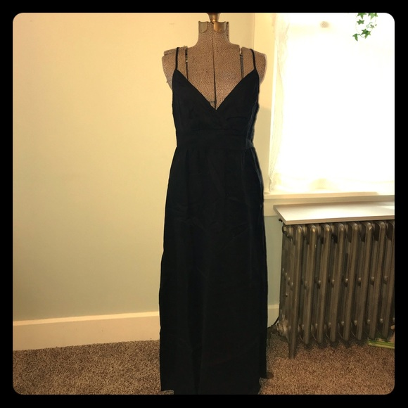 d23358a5f Mossimo Supply Co Dresses Black Linen Maxi Dress For The Summer